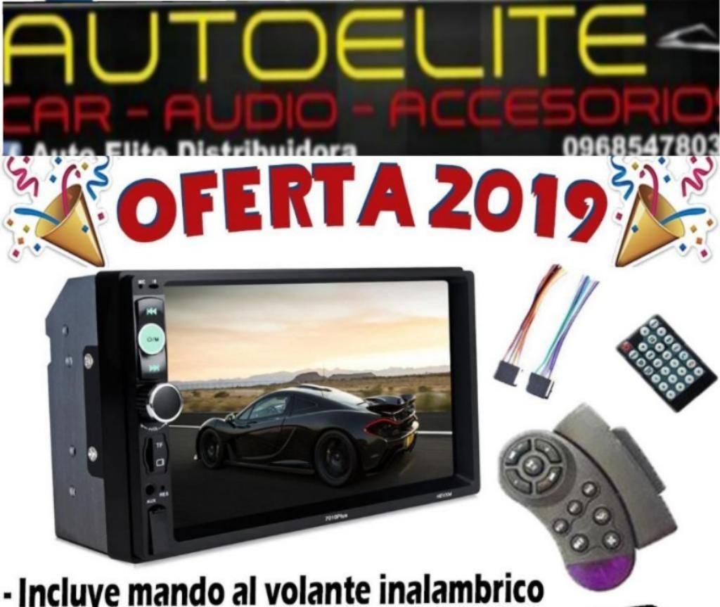 Radio Pantalla 2 Din Mp5 Incluye Mando