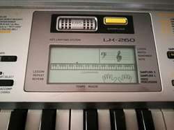 a47a01c59159 ... Órgano Electrico Casio Lk260 ...