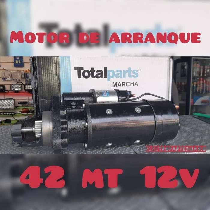 Motor de Arranque 42mt 12 Dientes