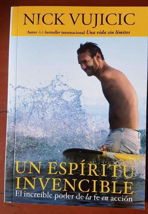 Libro Un Espíritu Invencible De Nick Vujicic