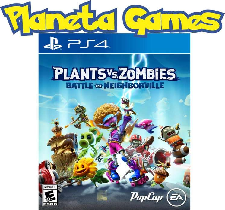 Plants vs Zombies Battle for Neighborville Playstation Ps4 Fisicos Caja Sellada