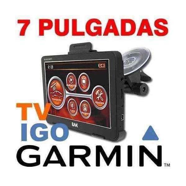 <strong>gps</strong> 7 Pulgadas Tv Sist. Igo 2018 Accesorios Completos