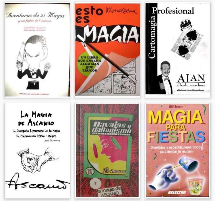 Mas de 40 Libros de Magia Y Cartas