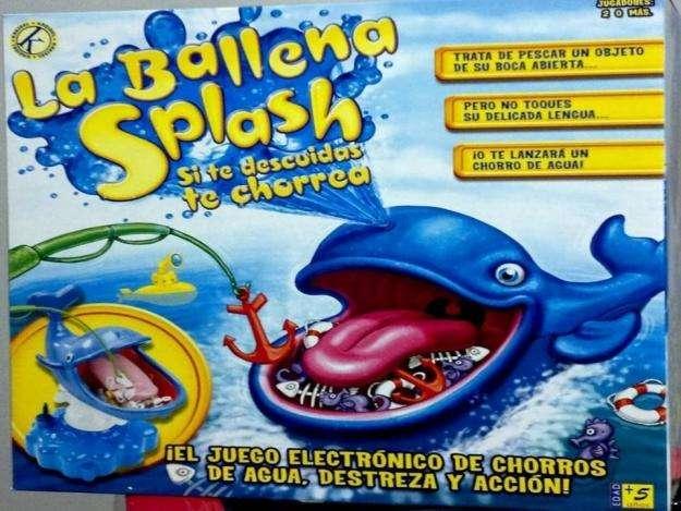 Juego mesa Ballena Splash De Kreisel El Mejor Regalo