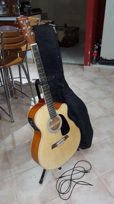 Vendo Guitarra, Soporte, Funda Y Cable