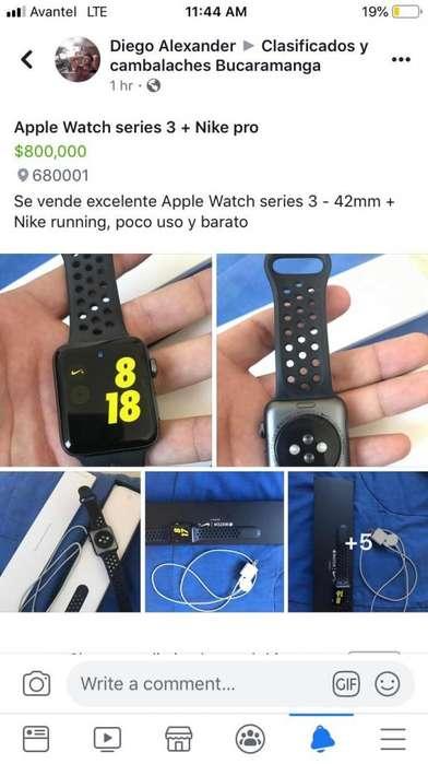 Apple Watch Series 3 Nike Running