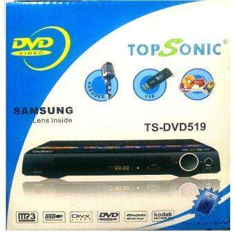 Dvd Topsonic Usb Cd Mp3 Mp4 Grabacion De Cd A Usb Nuevos