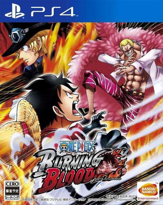 One Piece Burning Blood playstation 4