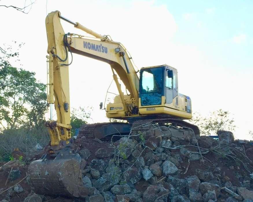 Excavadora de Oruga KOMATSU PC200, AÑO 2017, FLAMANTE, 1200H