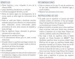 PURSUE ELIMINA VIRUS Y BACTERIA, INCLUYENDO EL VIRUS DE LA INFLUENZA AH1N1