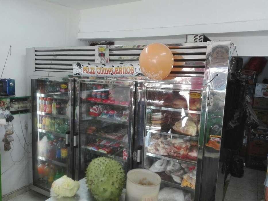 Refrigerador de Tres Puestos
