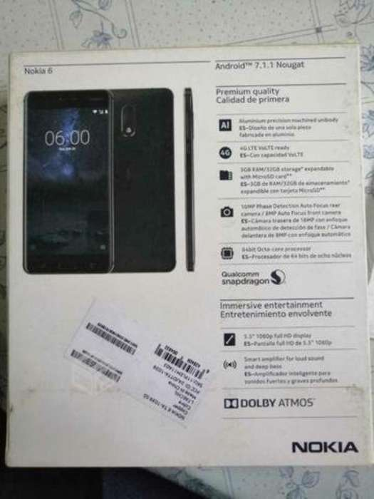 Se Vende de Oportunidad Celular Nokia 6