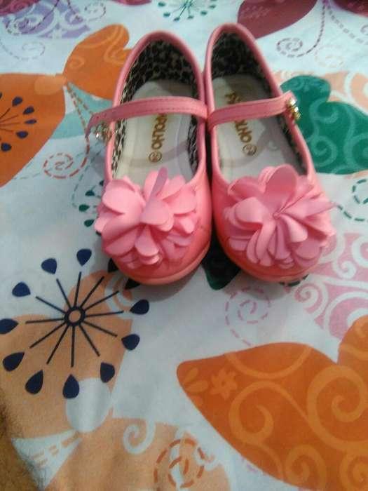 Zapato Niña Talla 9. 1/2