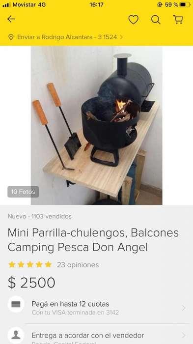 Parrilla Chulengo Chico