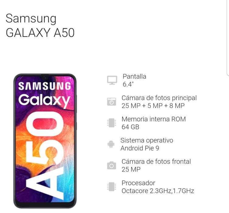 Samsung Galaxy A50 Negro O iPhone 6s