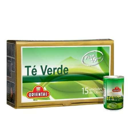 Bebida de te verde