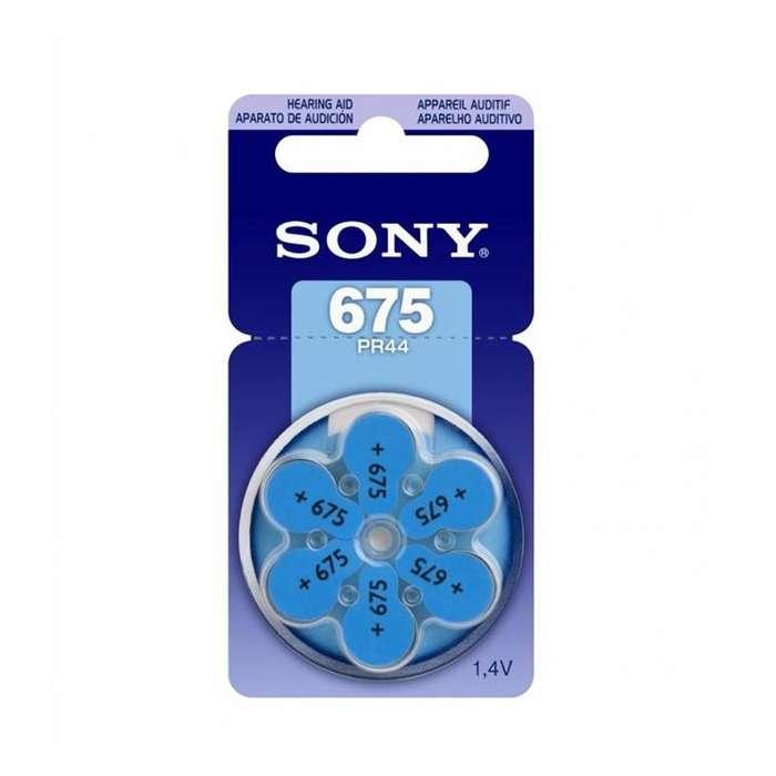 <strong>pila</strong> para Audífono Sony 675 Pr44 1.44v Blister por 6
