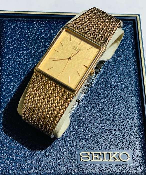 Reloj <strong>seiko</strong> Laminado en Oro