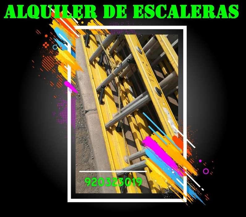 Alquiler de escalera telescópica, embonables, tijera escalera telescopica 8,10,12,14,16, 24,28,32,40, andamio