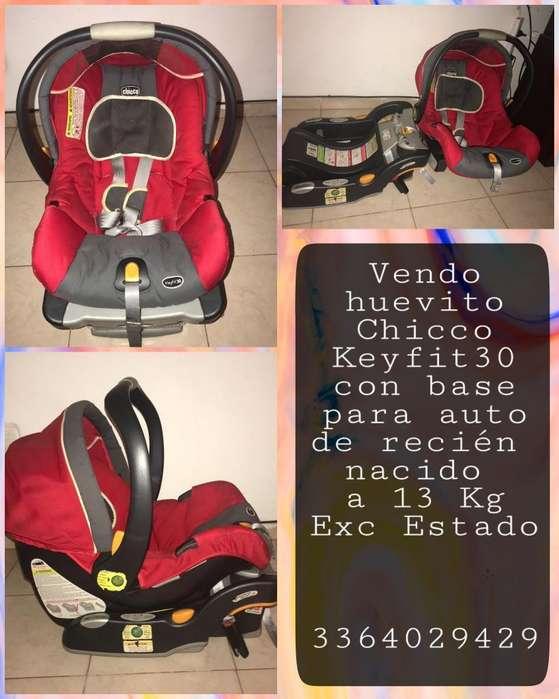 Huevito Chicco Keyfit30 con Base P Auto