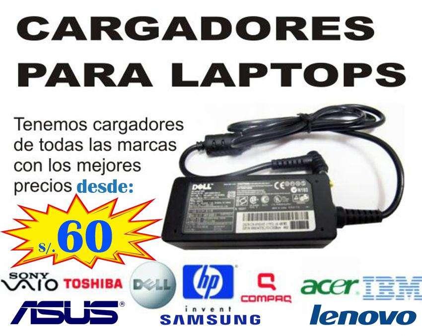 Cargadores, <strong>teclado</strong>s, pantallas y baterías para Laptops