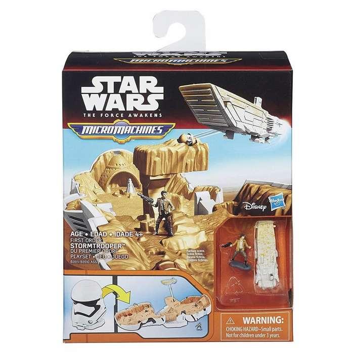Micro Machines Star Wars El despertar de la fuerza Set de juego de soldado de asalto de primera orden
