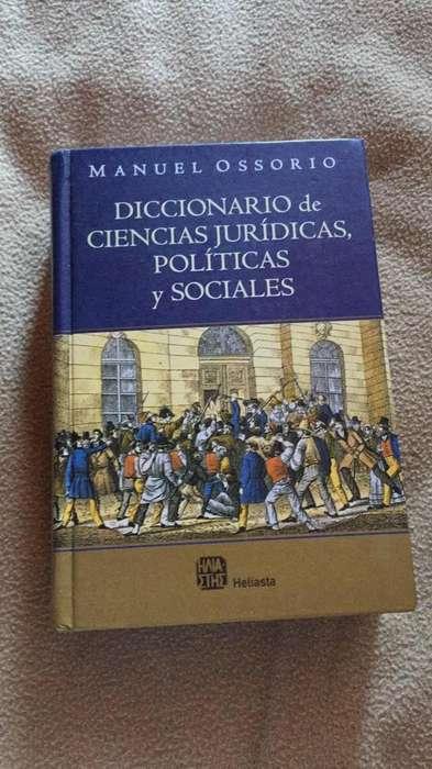 Dicc. Cd. Jurídicas, Políticas Y Soc.
