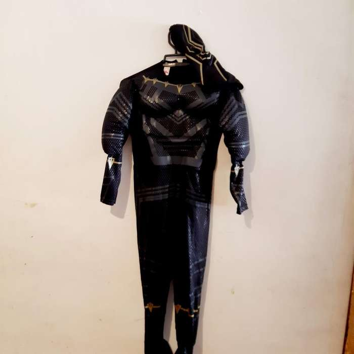 Disfraz Pantera Negra 10 a 12
