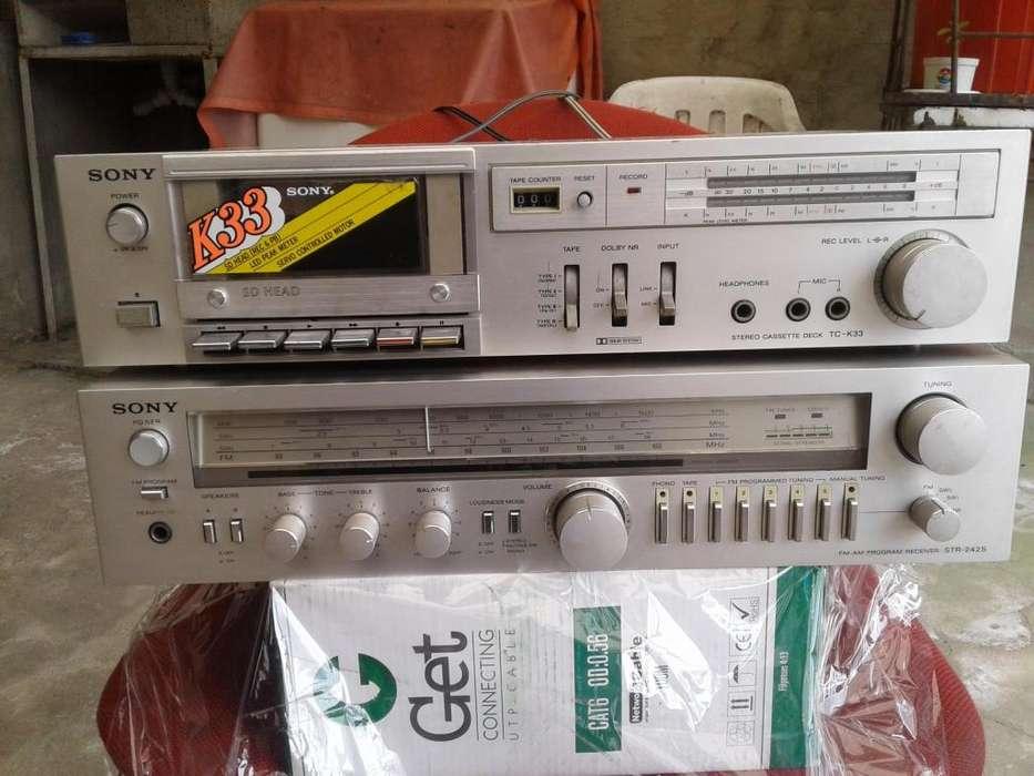 Radio amplificador Sony