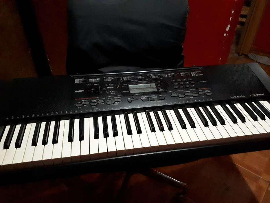 Piano Electrico Casio Ctk-3000