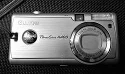 CÁMARA FOTOGRÁFICA CANON POWERSHOT A 400. DIGITAL
