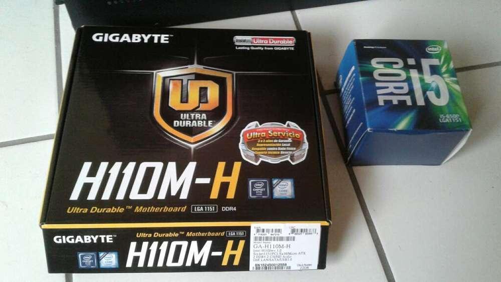 Combo I5 6500, Board Y 8 Gb de Ram Dual