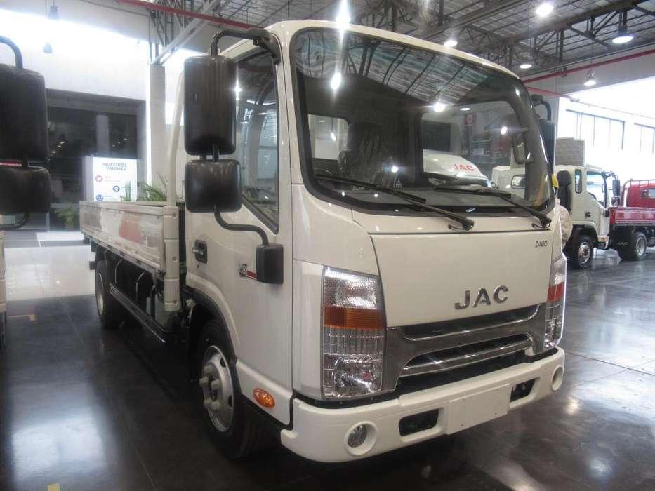 Camion JAC 4 Toneladas con Baranda VIP EURO 4 - 2019