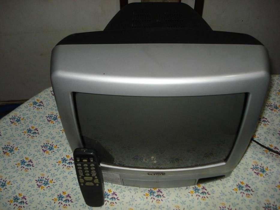 Tv <strong>televisor</strong> Color 14 Sansei de Sanyo C/ctrl Rem Orig Exc.
