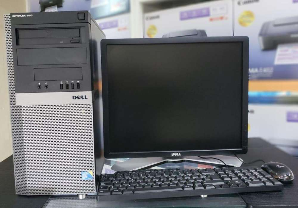 Computadora Dell Core2Duo con 4gb de Ram y 160 gb de Disco Q 1250.00