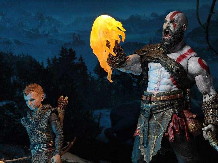 FIGURA DE ACCION NECA GodWar Ultimate Kratos y Atreus TwoPack