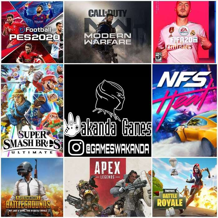 Wakanda Games Zona de Videojuegos