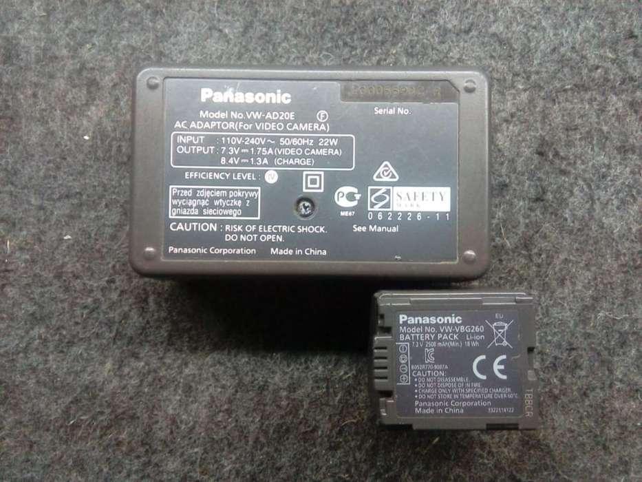 Bateria Y Adaptador Panasonic Original
