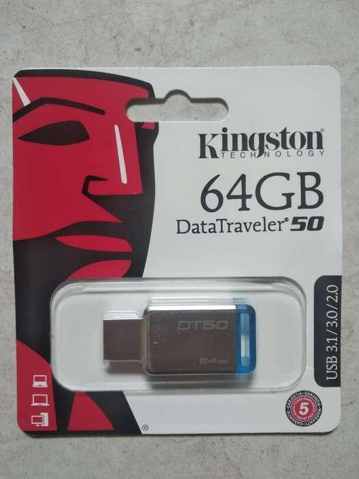 Memoria USB de 64 GB