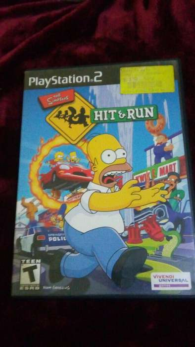 The Simpsons Hit And Run Play 2 Ps2