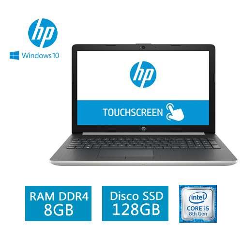 Laptop Hp 15-Da0002dx Touch Core I5-8250u 8gb 128gb Dvd