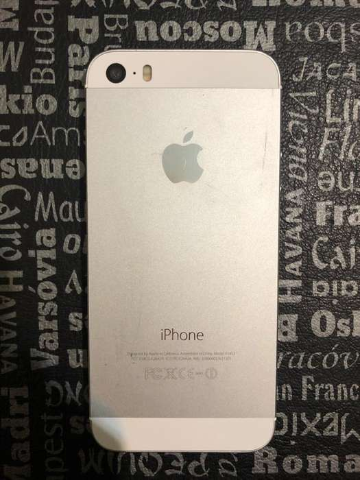 iPhone 5S Usado Pantalla Rota Funciona
