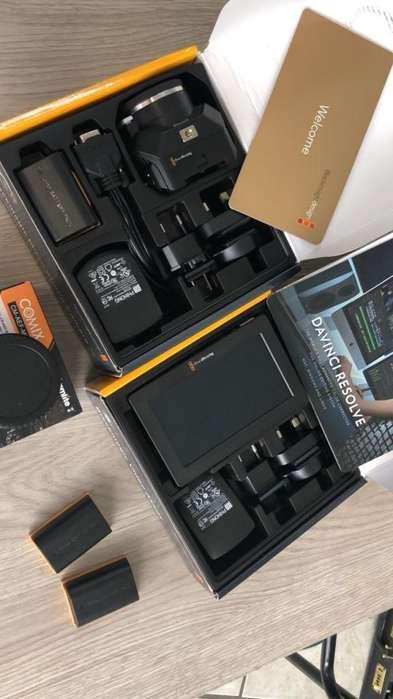 Blackmagic Micro Studio Camara 4k