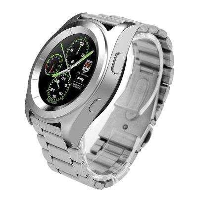 58c44dba9bb0 Reloj inteligente NO.1 G6 Bluetooth 4.0 monitor de ritmo cardíaco Manilla de  acero batería