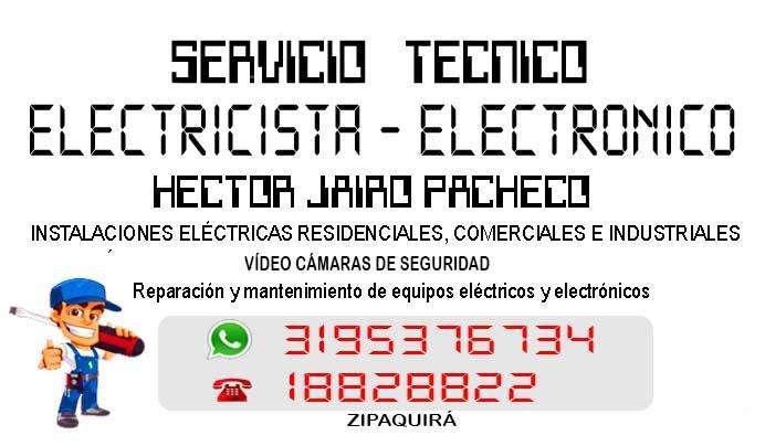 Servicio técnico eléctrico y electrónico