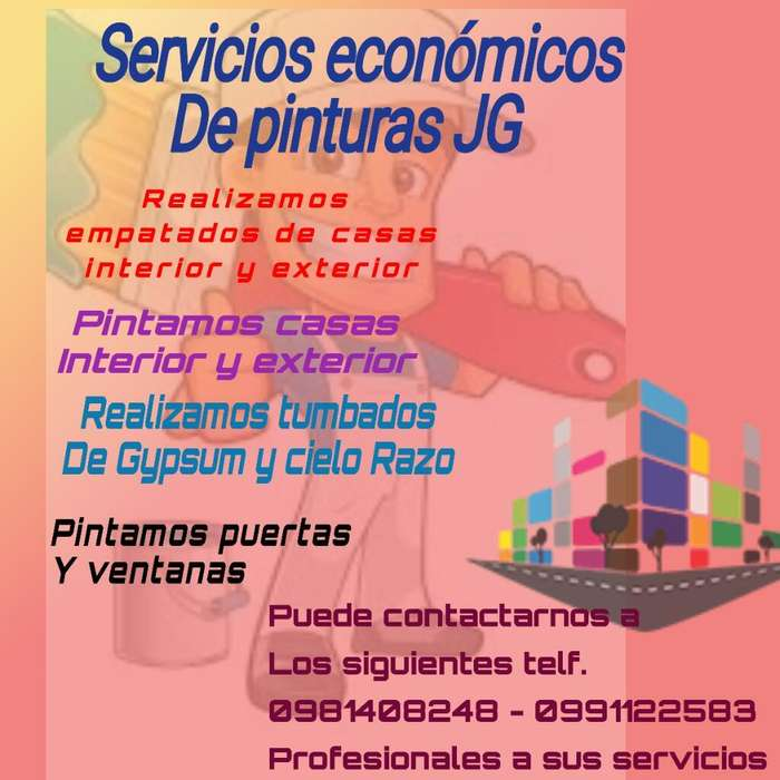 Servicios Economicos de Pintura Jg
