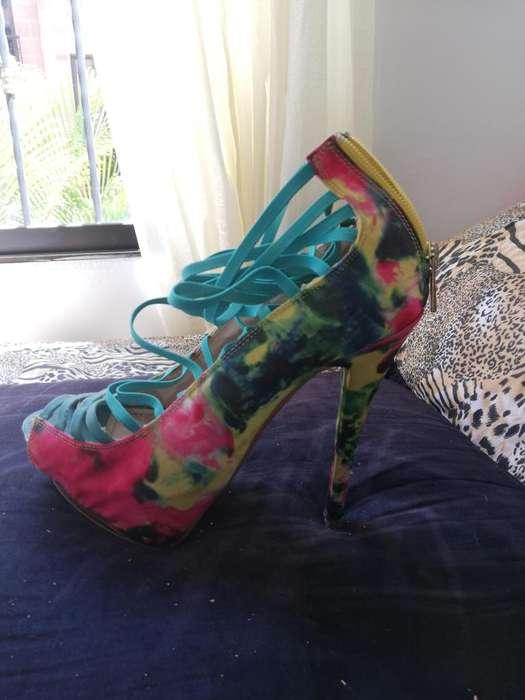 Zapatos con poco uso