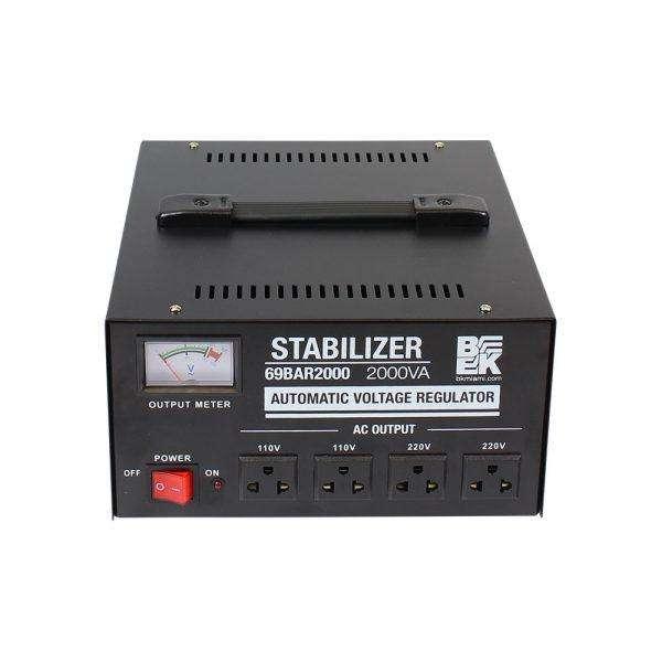 Regulador de Voltaje 2000VA 110V-220V