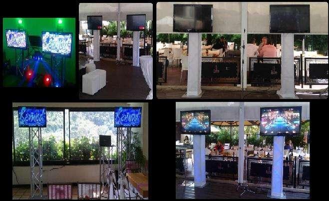 Alquiler Televisores Led 50/ 60 y 75/ Pantallas Gigante Proyector P, Eventos Conferencias, Charlas s/100