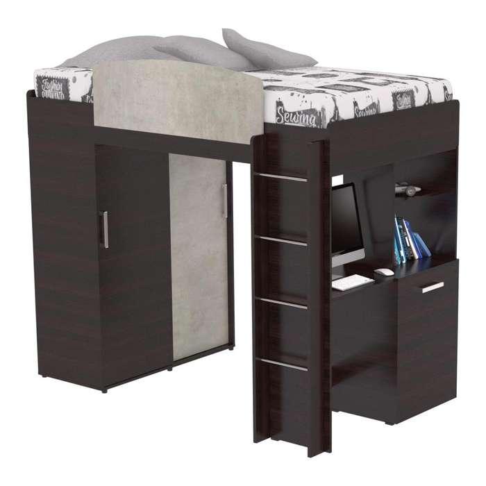 Camarote, Closet y <strong>escritorio</strong>. 3 en 1